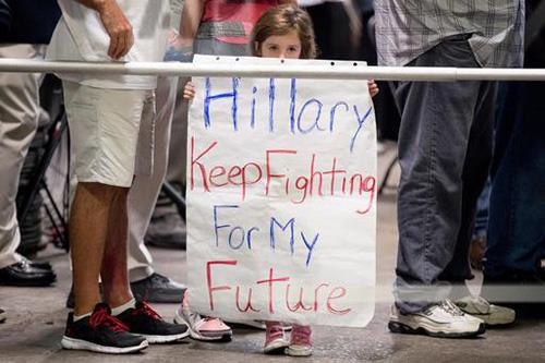 Il cerino in mano a Clinton