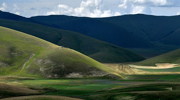 My own private Castelluccio