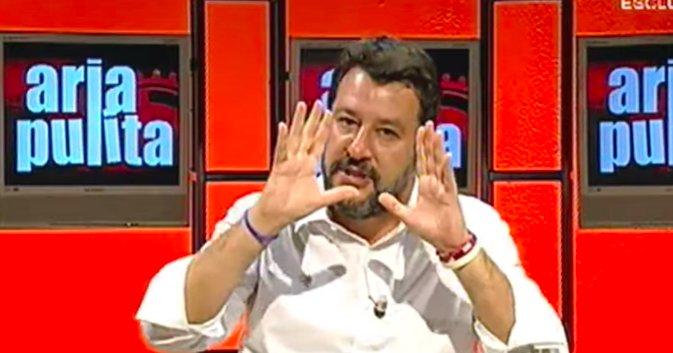 Quand'è che Salvini ha detto che la bambina era di Bibbiano