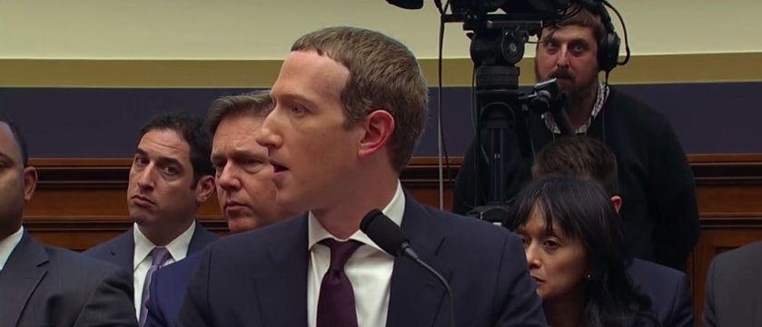 Mark Zuckerberg balbetta